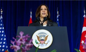 Kamala Harris says Asia won't have to choose between the U.S. and China