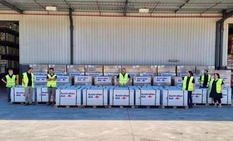 Australia trao tặng Việt Nam hơn 400.000 liều vaccine
