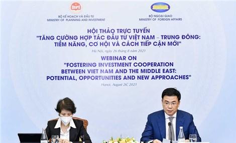 Việt Nam – Trung Đông: Nhiều tiềm năng, cơ hội, hợp tác mới