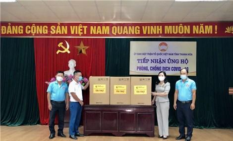 T&T Group tặng 50.000 bộ kít xét nghiệm nhanh Covid-19 cho Thanh Hoá và Kiên Giang