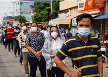 Campuchia phát hiện gần 2.000 trường hợp nhiễm biến thể Delta