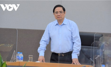 Thủ tướng Chính phủ Phạm Minh Chính làm việc tại tỉnh Thái Nguyên