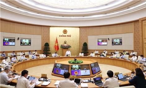 Thủ tướng điều hành Phiên họp Chính phủ thường kỳ tháng 8