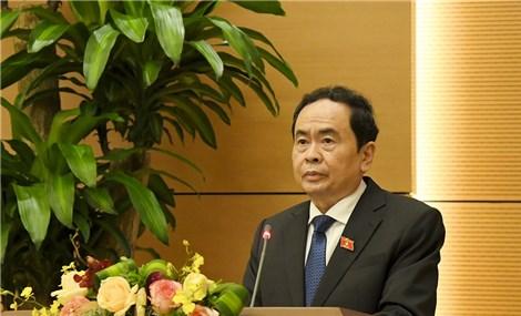 Phó Chủ tịch QH Trần Thanh Mẫn: Tiếp tục đổi mới tổ chức và hoạt động của Quốc hội