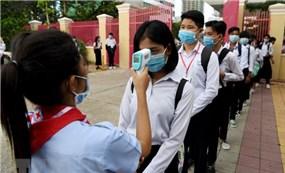 Campuchia mở cửa trở lại các trường trung học tại Phnom Penh từ ngày 15/9