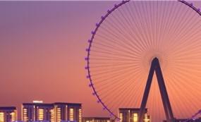 Bánh xe quan sát cao nhất thế giới ở Dubai sẽ mở cửa vào tháng tới