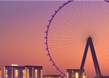 The world's tallest observation wheel is opening in Dubai next month
