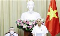 Chủ tịch nước làm việc với các cơ quan về giải quyết hồ sơán tử hình