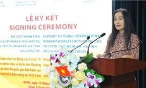 Hỗ trợ thanh niên đi xuất khẩu lao động trở về bị ảnh hưởng COVID-19