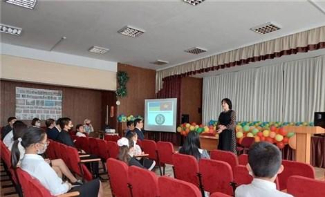 Lớp tiếng Việt tại Trường mang tên Chủ tịch Hồ Chí Minh ở Ukraine