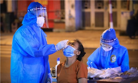 Sáng 17/9: Hà Nội ghi nhận 3 ca bệnh mắc COVID-19 đều ở Thanh Trì