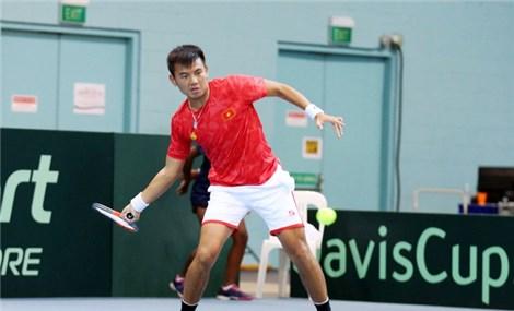 Đội tuyển quần vợt Việt Nam thắng trận thứ hai tại Davis Cup