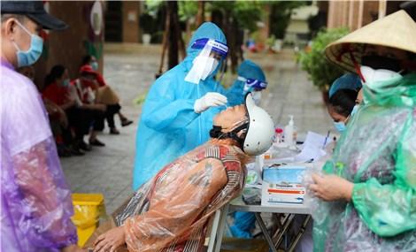 Sáng 21/9: Hà Nội thêm 1 ca mắc COVID-19 ở quận Long Biên