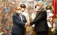 Chủ tịch nước Nguyễn Xuân Phúc kết thúc tốt đẹp chuyến thăm chính thức Cuba