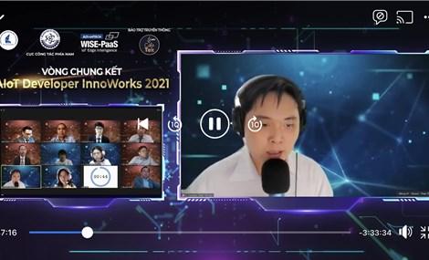 """""""Nền tảng phòng xếp hàng ảo cho bệnh viện"""" là quán quân """"AIoT Developer InnoWorks 2021"""""""