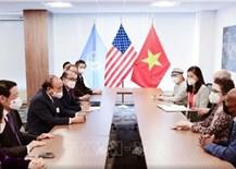 Chủ tịch nước: Việt Nam trân trọng sự hỗ trợ quý báu của bạn bè cánh tả Hoa Kỳ