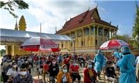 Campuchia: Ca nhiễm biến thể Delta tăng lên gần 6.000 người