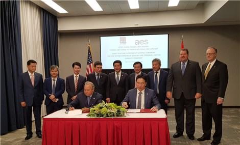 Bộ trưởng Nguyễn Hồng Diên làm việc với tập đoàn AES của Hoa Kỳ