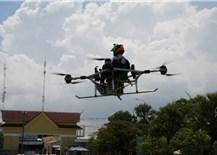 Sinh viên Campuchia chế tạo máy bay không người lái hỗ trợ cộng đồng