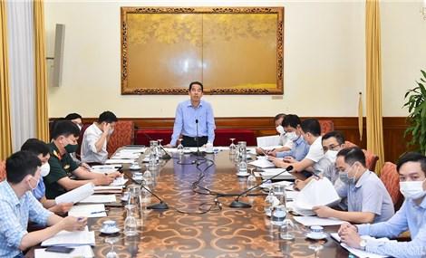 Kiểm tra công tác phòng, chống thiên tai năm 2021 với tỉnh Nam Định và Thái Bình