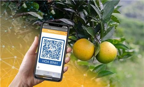 Sàn TMĐT Postmart ứng dụng mã QR để nông dân mở gian hàng số