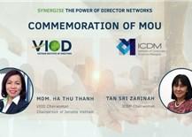 Hợp tác quốc tế giữa VIOD và đối tác Malaysia nhằm thúc đẩy quản trị công ty xuyên quốc gia
