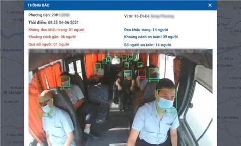 Hỗ trợ AI phòng chống dịch cho 120.000 xe vận tải