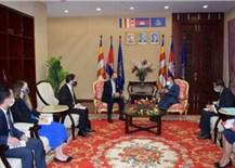 Campuchia kêu gọi giải pháp hòa bình cho tranh chấp Biển Đông