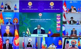 Các Bộ trưởng ASEAN họp trù bị cho Hội nghị cấp cao ASEAN và Hội nghị cấp cao liên quan