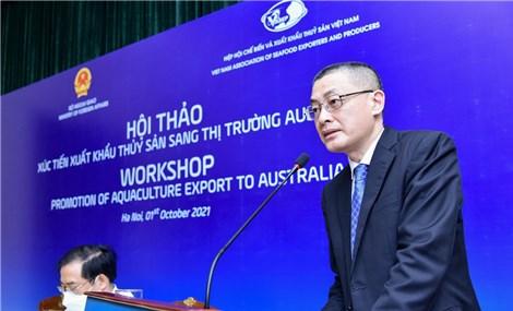 Xuất khẩu thủy sản - 'Điểm sáng' trong quan hệ thương mại Việt Nam-Australia