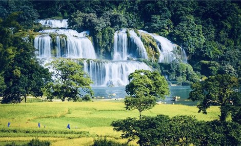 Thác Bản Giốc Cao Bằng vẻ đẹp hùng vĩ giữa núi rừng