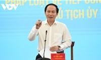 MTTQ Việt Nam kiến nghị: Tiếp dân không đủ, cần xử lý nghiêm người đứng đầu