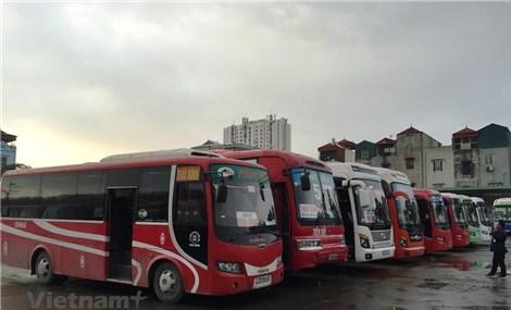 Chỉ có 8 tuyến xe khách liên tỉnh hoạt động trong ngày đầu mở lại