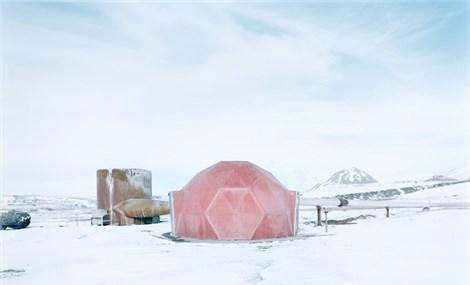Vẻ đẹp siêu thực của những công trình ở Bắc Cực