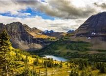 Cảnh sắc nơi vườn quốc gia gần biên giới Mỹ - Canada