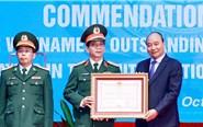 Chủ tịch nước tuyên dương tập thể, cá nhân trong hoạt động gìn giữ hòa bình Liên Hợp Quốc