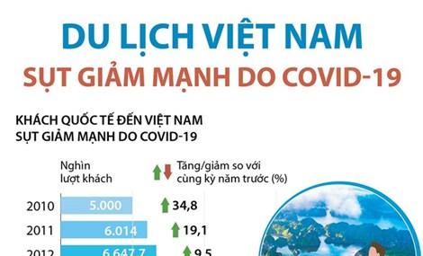 Du lịch Việt Nam sụt giảm mạnh do COVID-19
