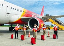 Vietjet khôi phục 48 đường bay nội địa, miễn phí xét nghiệm