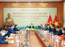 Party's external relations: Significant contribution made at multilateral forums of political parties