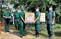 An Giang: Hỗ trợ vật chất phòng, chống dịch Covid-19 cho nước bạn Campuchia