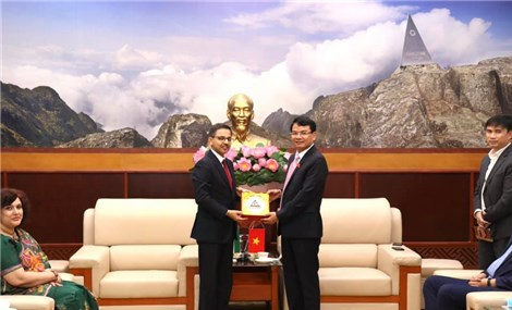 Đặt nền móng hợp tác mới giữa Ấn Độ và tỉnh Lào Cai