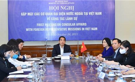 Việt Nam cập nhật chính sách lãnh sự cho cơ quan đại diện nước ngoài trong bối cảnh dịch Covid-19